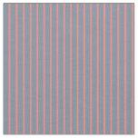 [ Thumbnail: Light Slate Gray & Light Coral Lines Fabric ]