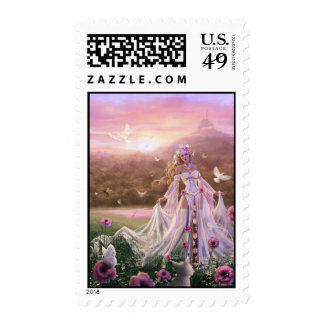 Light Sorceress Postage Stamps