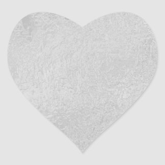 LIGHT Source - Black n White Sparkle Wheel Heart Sticker