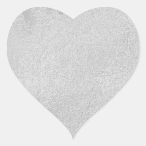 LIGHT Source - Black n White Sparkle Wheel Heart Sticker