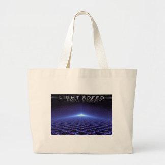 Light Speed Jumbo Tote Bag