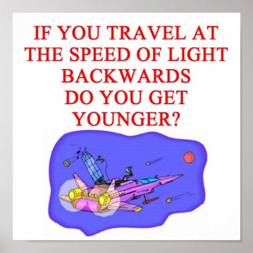 LIGHT speed Poster