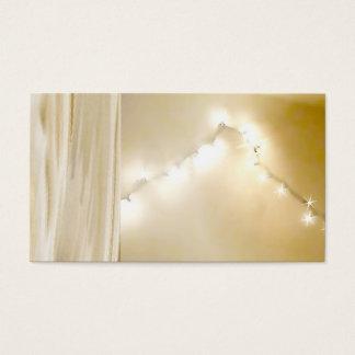 Light Spiritual Glow Night Firefly Business Cards
