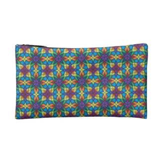 Light Stained Glass Cosmetic Bag