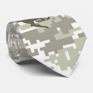 Light Storm Digital Camouflage Deer Camo Neck Tie