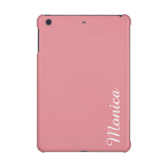 Light Strawberry Pink Customizable iPad Mini Covers