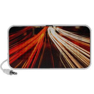 Light Streaks & Streamers Mp3 Speakers