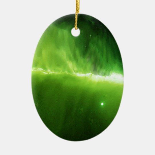 Light String Nebula Ceramic Ornament