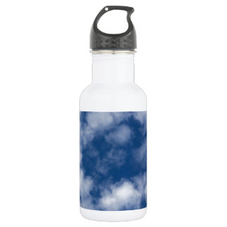 Light Summer Clouds Water Bottle