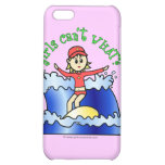 Light Surfer Girl iPhone 5C Covers