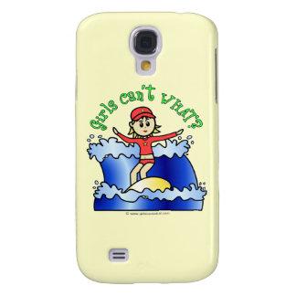 Light Surfer Girl Samsung Galaxy S4 Case