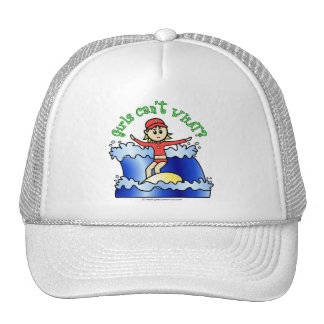 Light Surfer Girl Trucker Hat