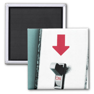 Light Switch 2 Inch Square Magnet