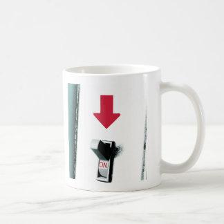 Light Switch Classic White Mug
