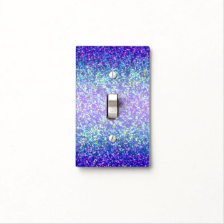 Light Switch Cover Glitter Graphic Background