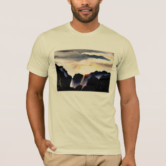 Light T-shirt of one muscle