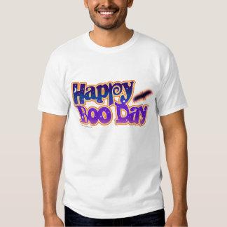Light T-shirts - HAPPY BOO DAY - Halloween