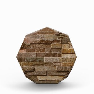 Light tan / brown bricks pattern awards