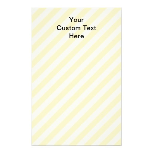 Light Tan Stripes with Black Text. Stationery