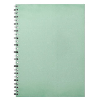 LIGHT TEAL BLUISH GREEN GIRLY BEAUTY FASHIONABLE C NOTEBOOK
