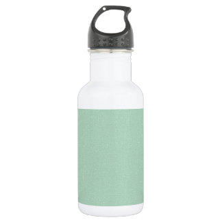 LIGHT TEAL BLUISH GREEN GIRLY BEAUTY FASHIONABLE C STAINLESS STEEL WATER BOTTLE