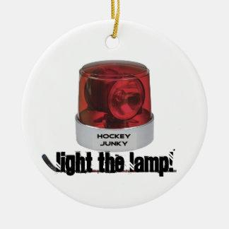 LIGHT THE LAMP! CHRISTMAS TREE ORNAMENTS
