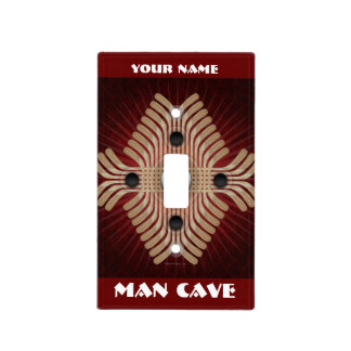Light The Lamp (Man Cave) Light Switch Cover