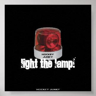 LIGHT THE LAMP! POSTER
