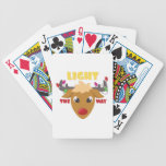 Light The Way Bicycle Playing Cards