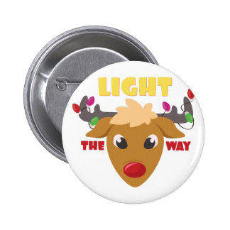 Light The Way 2 Inch Round Button