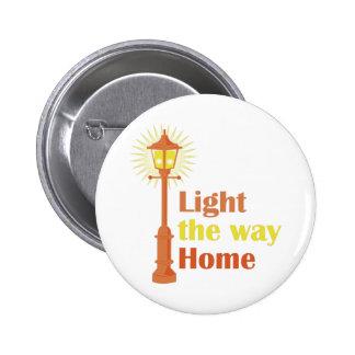 Light The Way 2 Inch Round Button