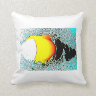 Light the Way Jet Pillow by CricketDiane