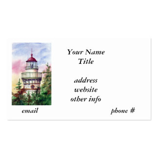 Light The Way Lighthouse  Business Cards