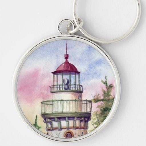 Light The Way Lighthouse Keychain