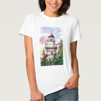 Light The Way Lighthouse  Ladies Tshirt