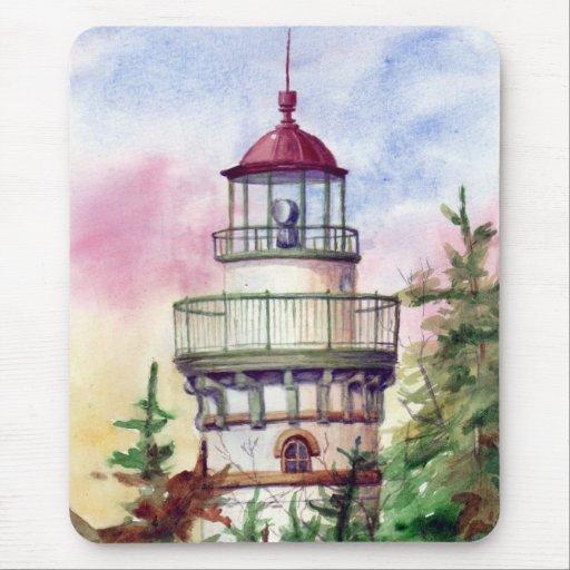 Light The Way Lighthouse  Mousepad