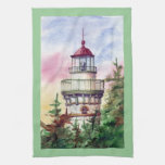 Light The Way Lighthouse Towel