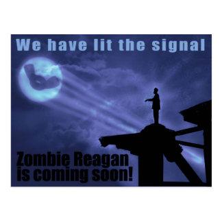 Light the winger signal! Postcard