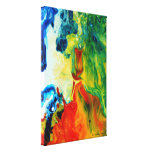 Light Torch 2 Abstract Landscape Canvas Prints