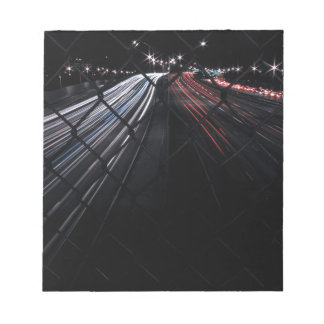 Light Trails Note Pad
