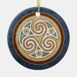 Light Triskele Pendant/Ornament