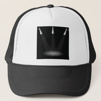light trucker hat