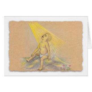 Light & Truth Angel Baby Card