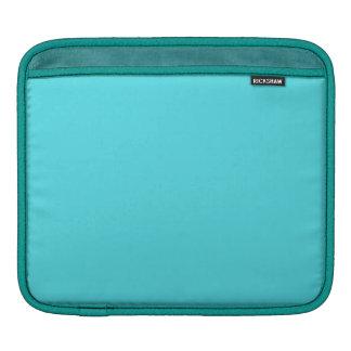 Light Turquoise Color iPad Sleeve