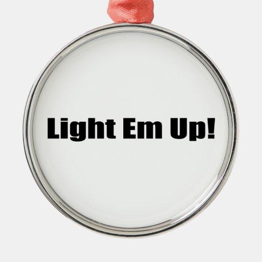 Light Um up Christmas Tree Ornaments
