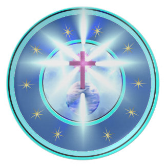 Light Unto the World 3- Melamine Plate