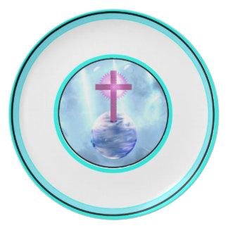 Light Unto the World-Melamime Plate