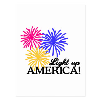 Light Up America! Postcard