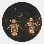 Light-Up Penguins Sticker