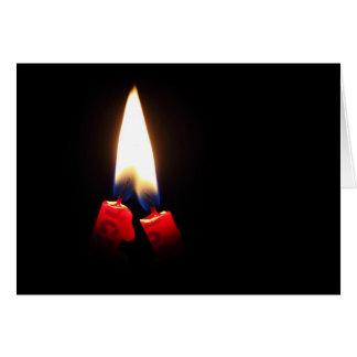 Light up the night card